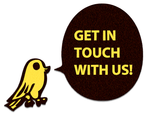 Get in touch with us!