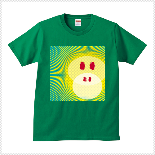Wicky 緑 Tシャツ