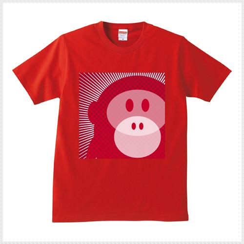 Wicky 赤 Tシャツ