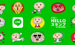 Hello LINE STICKERS